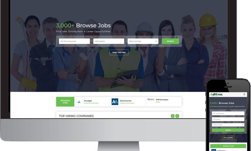 Seota Digital Marketing - Custom Programmed Job Posting Website
