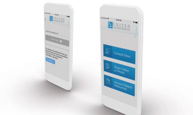 Troy Web Consulting - United Concierge Medicine - Mobile Telemedicine Application Development