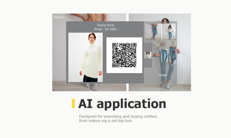 Promwad - In-video shopping AI application