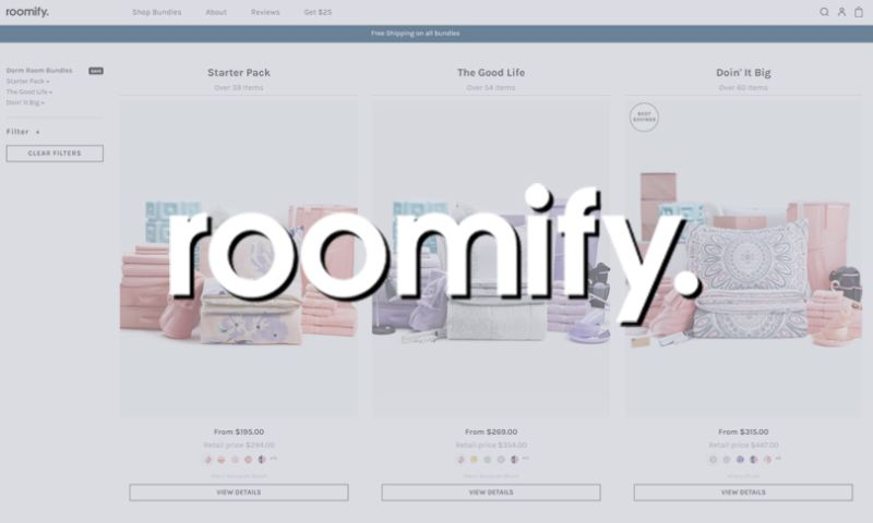 Effective Spend - Growing Roomify's Amazon Sales & Gaining Marketshare Among Millennials
