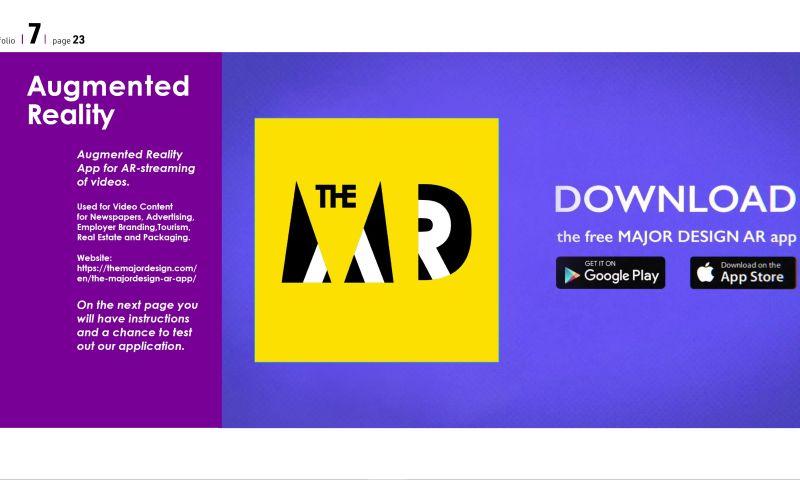 The MAJORDESIGN Creative Agency - AR Go formerly MAJORDESIGN AR app