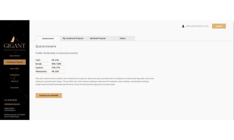 Itexus - Wealth Management Platform with Robo-advisor, Remote Portfolio Construction and Monitoring Functionality