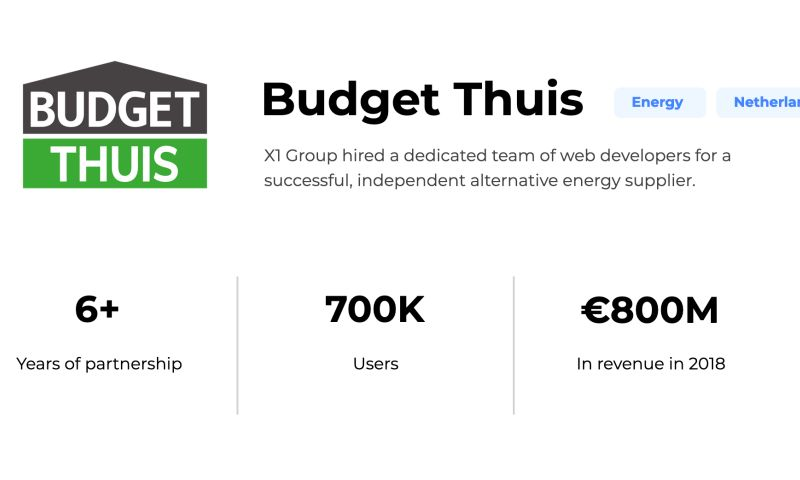X1 Group - Budget Thuis