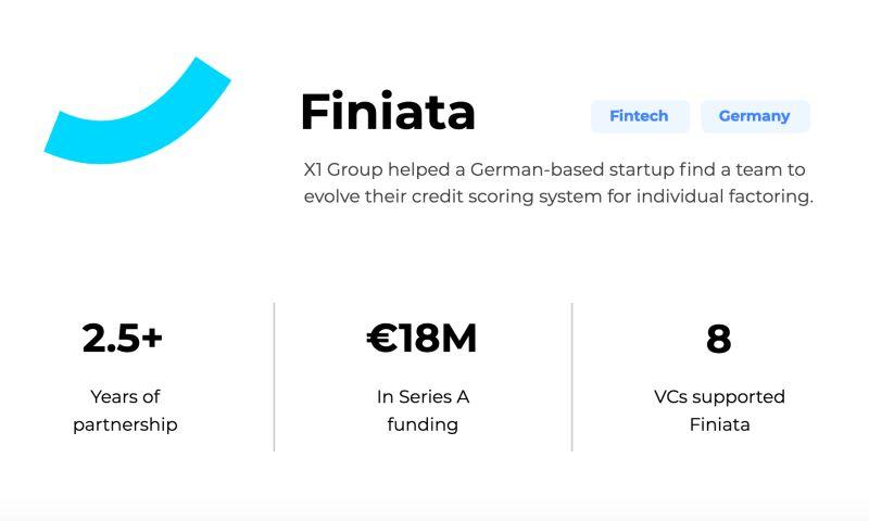X1 Group - Finiata