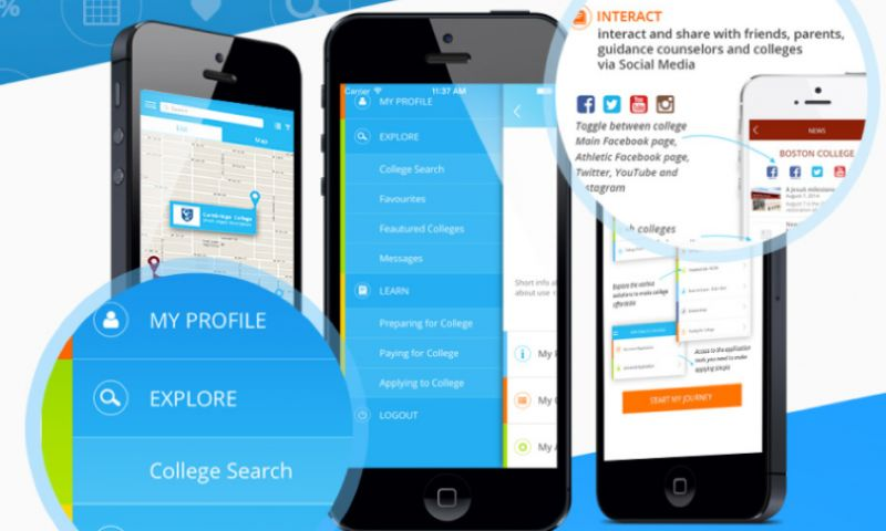 Kanda Software - College Interactive: Web Platform and Mobile Applications to Connect Students and University Admission offices