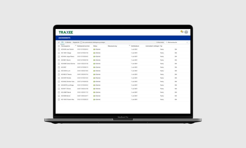 Noltic - Improving & scaling the fleet management solution. TRAXEE – WABCO Product