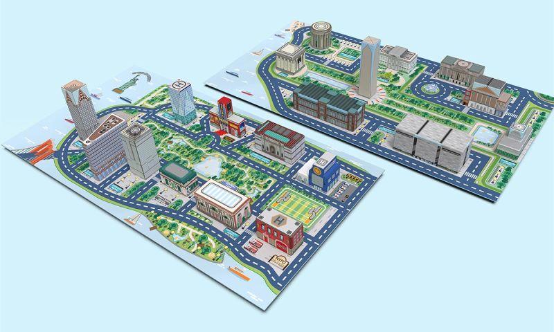 Dosenyo - City 3D Map