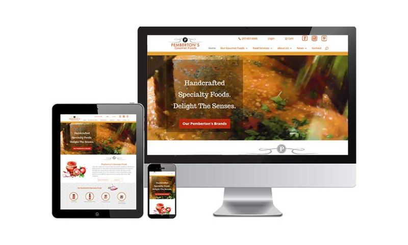 GCMD - Pemberton's Gourmet Foods - eCommerce