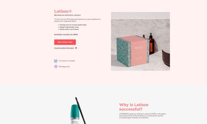 X3 Marketing - Avere Beauty Online Visits
