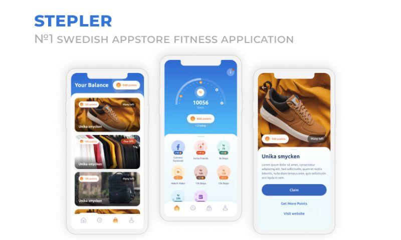 2muchcoffee - Stepler - Fitness Application