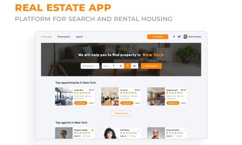 2muchcoffee - Real Estate Platform
