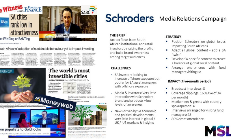 MSL South Africa - Schroders