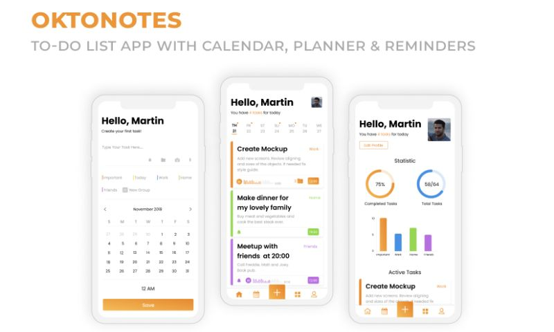 2muchcoffee - OctoNotes - To-Do List App
