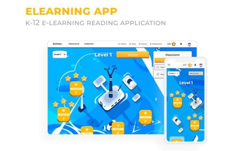 2muchcoffee - US K-12 E-learning Reading App