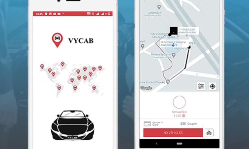 Softuvo Solutions - VYCAB Rider app