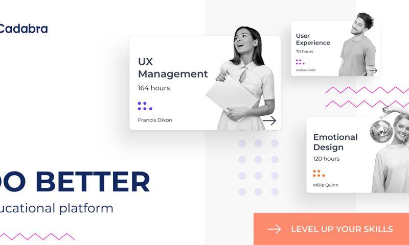 Cadabra Studio - Educational Platform - Do Better