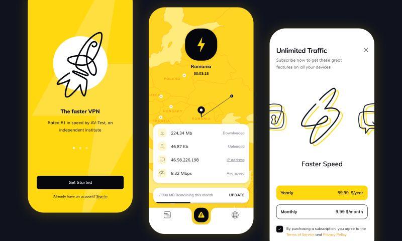 Cadabra Studio - Flash App. VPN Service