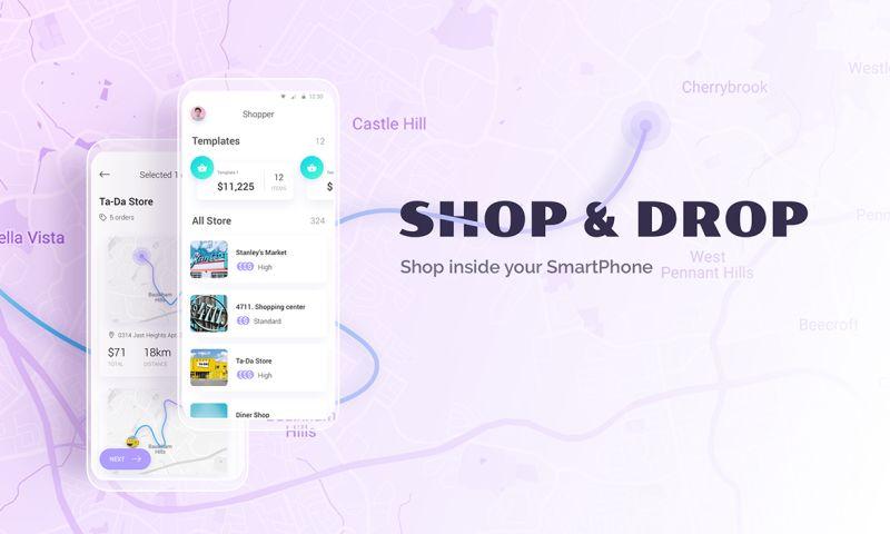 Cadabra Studio - Shopping App - Shop&Drop
