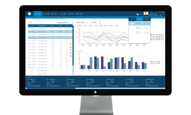 Enlab Software - Custom Freezer Monitoring and Management System