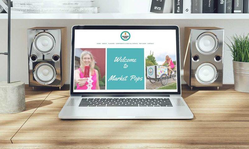 Troy Web Consulting - Market Pops ECommerce Website Development