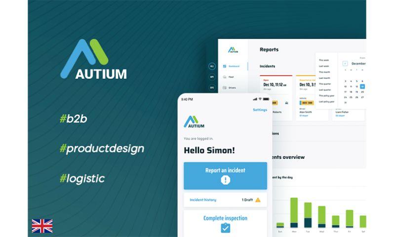 Merixstudio - Autium - digitally automated web and mobile systems for fleet operators