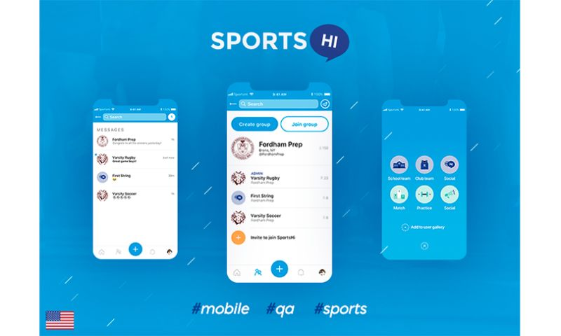 Merixstudio - SportsHi - the React Native mobile application