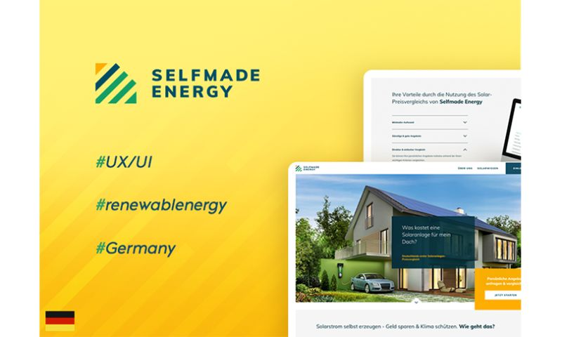 Merixstudio - Selfmade Energy - Europe's first solar price comparison portal