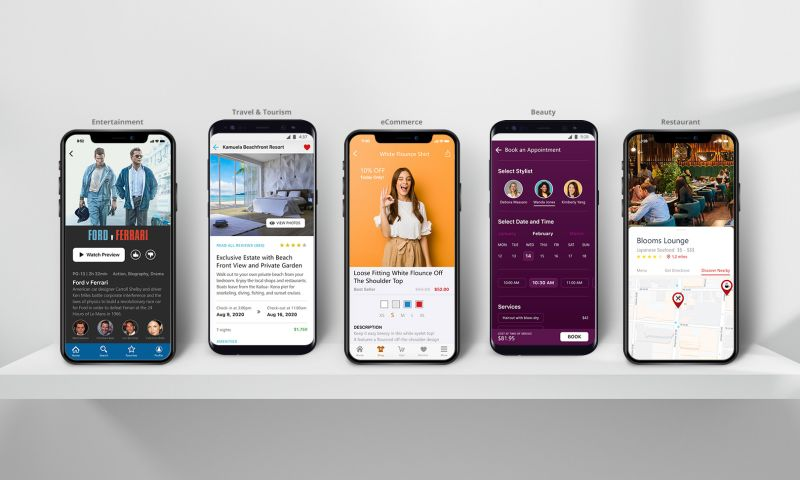 Inspire Visual - We Build Apps in a Wide Variety of Verticals