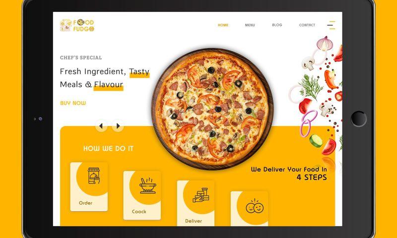 The One Technologies - Online Food Deliver Website
