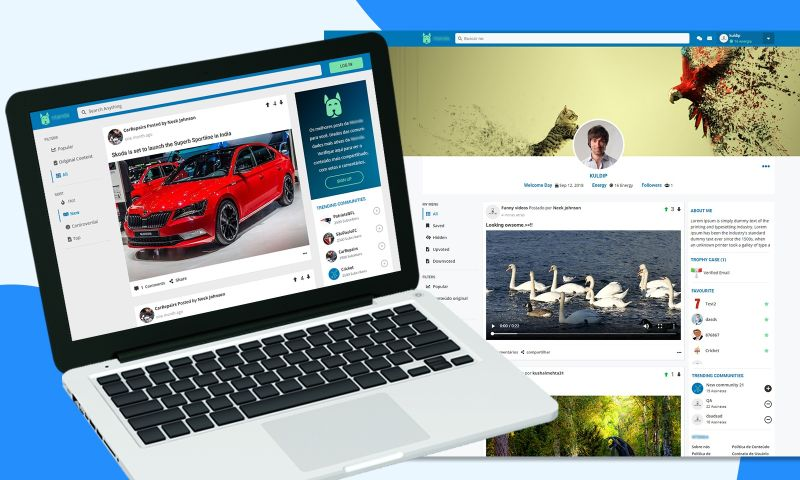 The One Technologies - Social Networking Website
