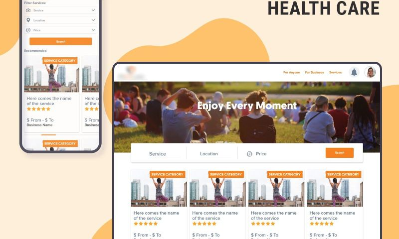 The One Technologies - Health Care Web Application