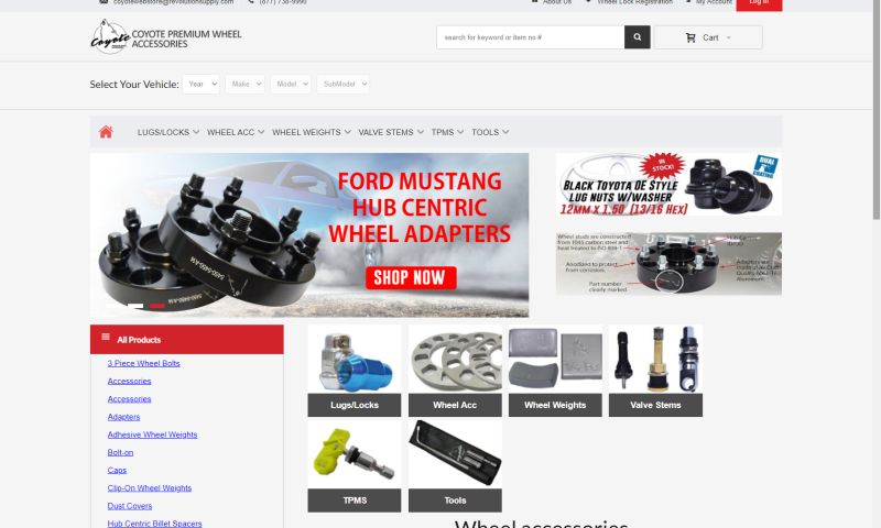 Public Advertising Agency, Inc. - Coyote Accessories – Wheel Accessories