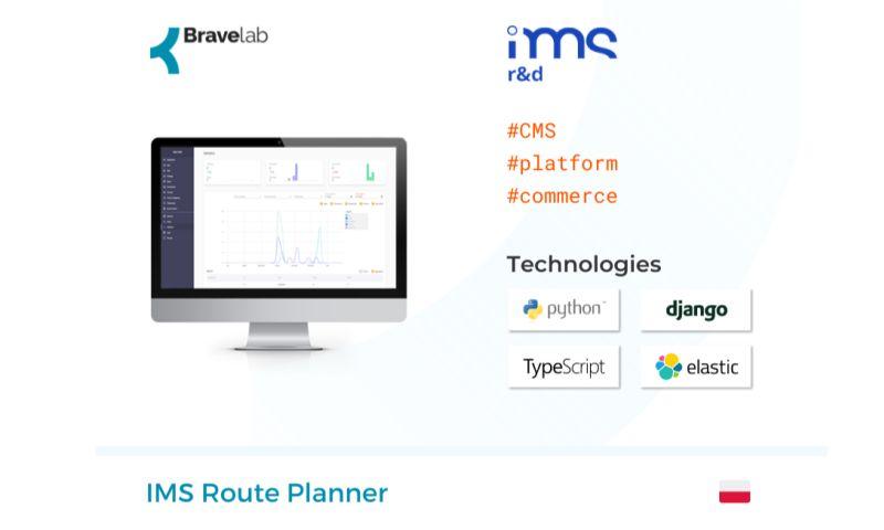 Bravelab.io - IMS Route Planner
