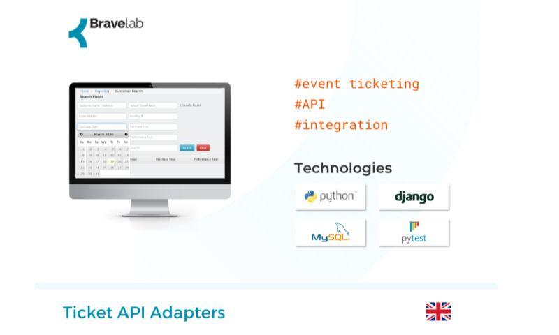 Bravelab.io - Ticket API Adapters