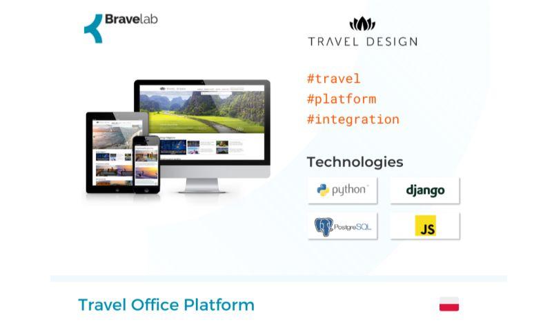 Bravelab.io - Travel Office Platform