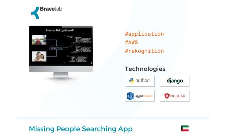 Bravelab.io - Missing People Searching App