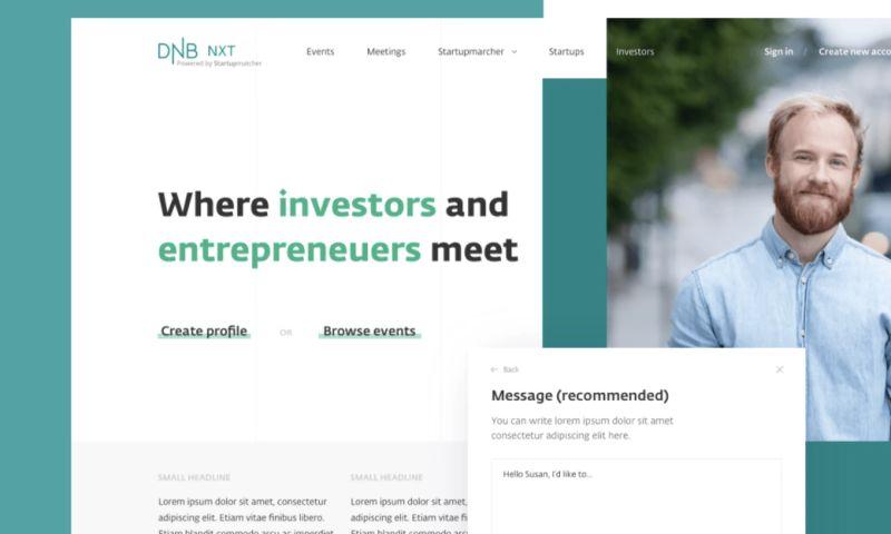 Startup Development House - DNB NXT + Startupmatcher