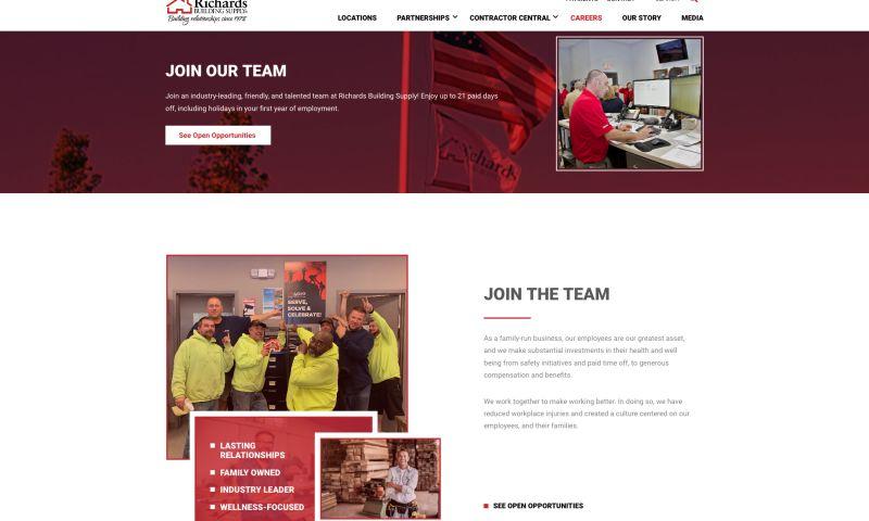 SKDesign Agency - Richards Building Supply