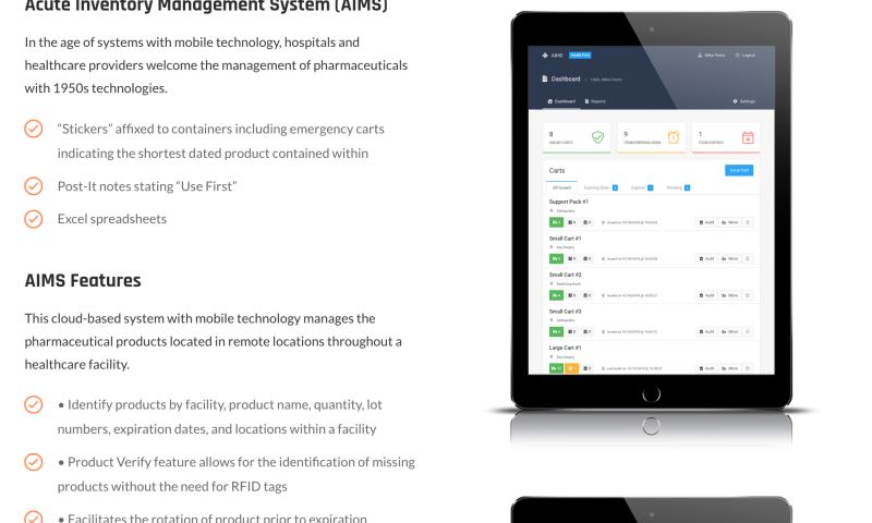 SKDesign Agency - Acute Inventory Management System