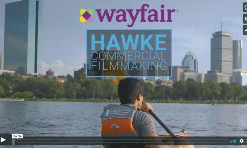 Hawke Commercial Filmmaking - Wayfair Boston