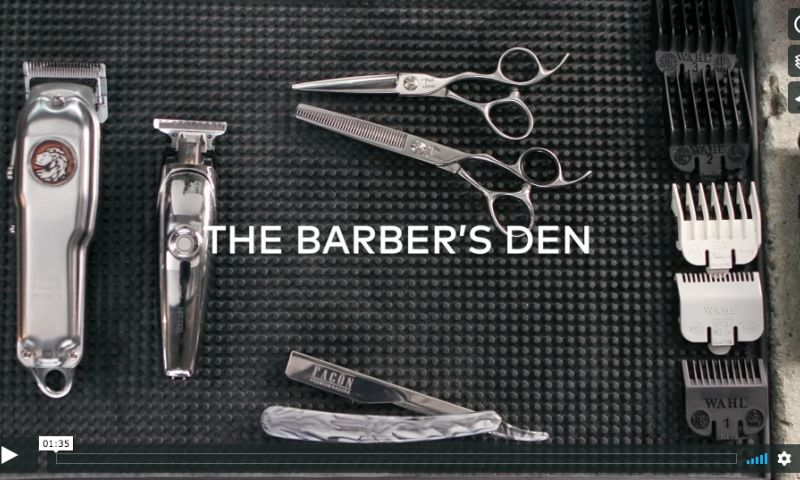 Hawke Commercial Filmmaking - The Barbers Den - Vistaprint - It's your dream