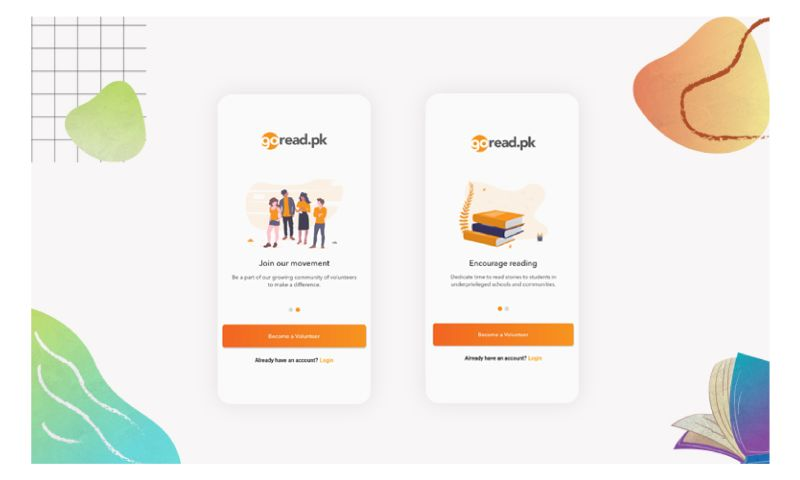 VentureDive - Mobile Development for Literacy Resource App