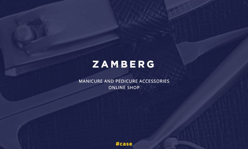 UAATEAM - PPC for Zamberg.com - manicure and pedicure accessories shop