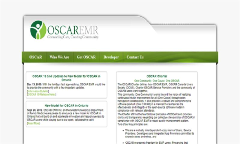 Decipher Zone Softwares - OscarEMR