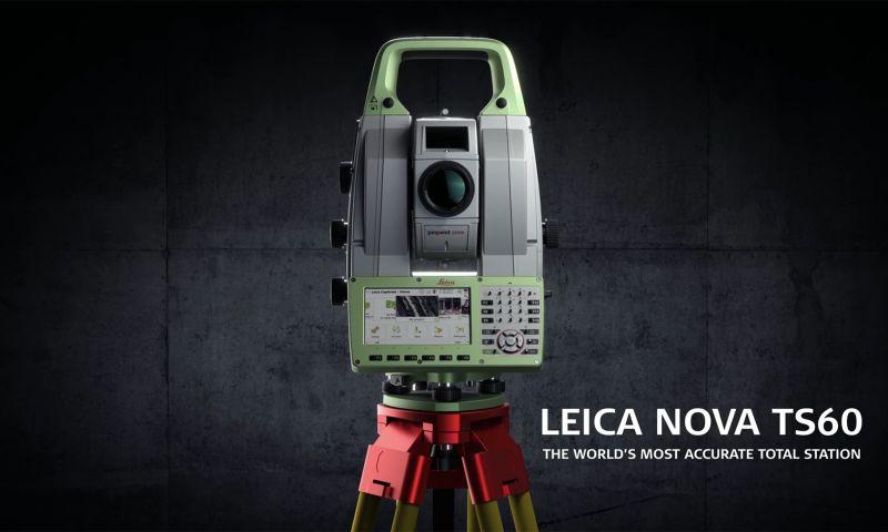 Verstiuk Production - Leica Geosystems TS60 – 3D Animation & Video Editing