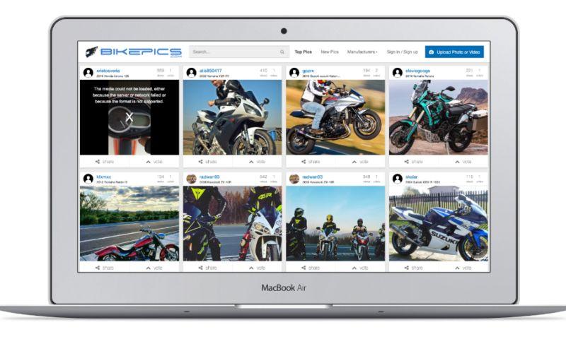datarockets - Bikepics - social network for bikers