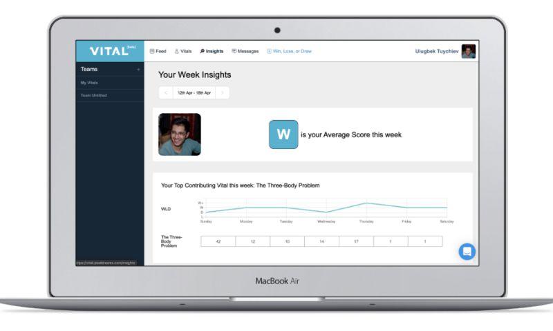 datarockets - BeVital - Human analytics platform for teams