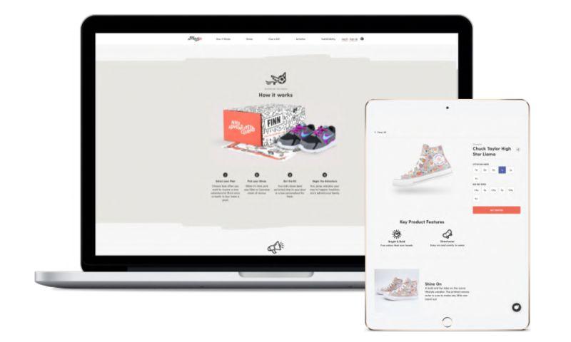 datarockets - EasyKicks - Nike inc. project for kids