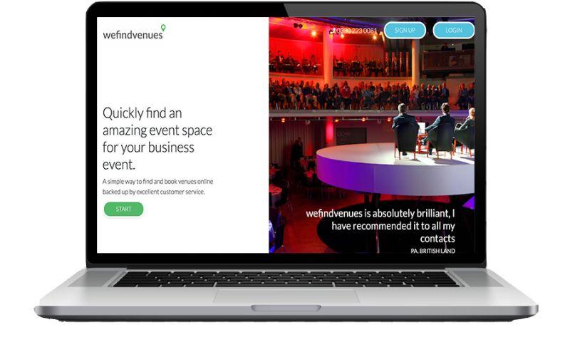 datarockets - WeFindVenues - Venue booking platform in the UK