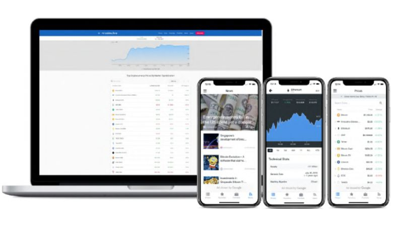 datarockets - Coins.live - Free crypto portfolio tracker